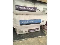 Multi finish, dri coat, thistle bonding