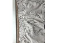 Curtains and king size duvet set by NEXT