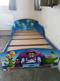 MONSTERS INC Toddler bed