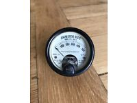 """World War 2 / RAF Army Ammeter DC 2"""" Taylor Electrical Instruments Militaria / military antiques"""