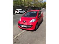 BARGAIN Peugeot 107 RED *FULL MOT*Only £20 Tax* same as toyota aygo & Citroen C1