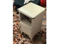 Vintage Lloyd Loom Bedside Cabinet