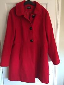 George red coat size 20