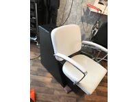 Salon backwash chair and stand NO sink! Brand new.