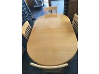 John Lewis Extending Table 6 Chairs