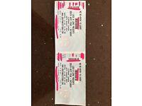 x2 SW4 Saturday 26th Music Festival Tickets