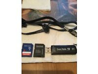 SANDISK U3 SMARTMICRO 2.0GB CRUZER.PLUS SANDISK.&SANDISK ADAPTER.BARGAIN THE LOT.