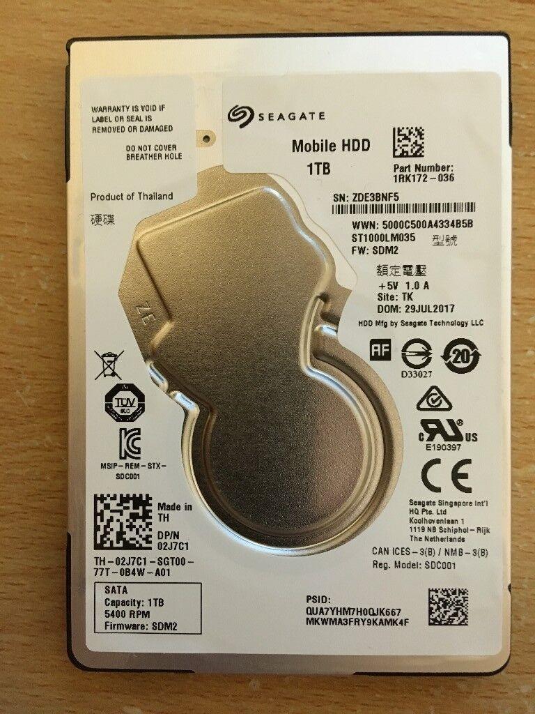 Seagate 1 TB 2.5-Inch HDD SATA Hard Drive
