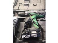 Hitachi 18v lion hammer drill driver