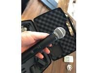 Shure SM58 wireless mic