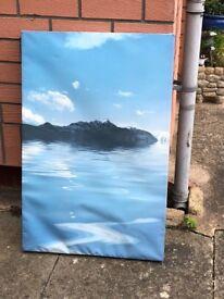 Mountain Scape Canvas