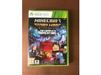 Minecraft Xbox Game- used once