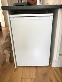 Fridge with freezer compartment