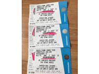 3 x Stone Roses Tickets - Seated - Glasgow Hampden Park - 24th June