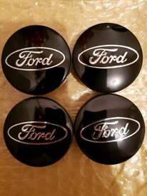 4x54mm Ford center wheel caps