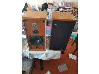 B & W dm4 speakers for sale