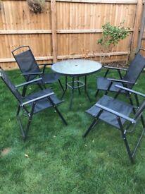 4 seat patio set