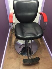 Two barbers chairs, games chairs