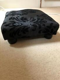 Small black stool