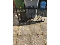 Wrought iron gate/fence