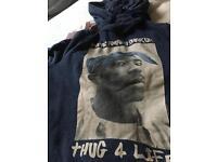 Men's hoodie thug for life