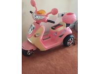 Girls electric bike, virtually bran new