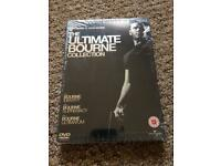 Ultimate Bourne collection DVD