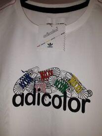 Adidas Ladies Adicolor T.shirt sz 16