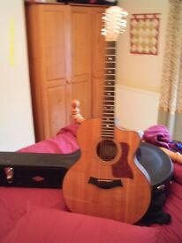 Taylor CE355 12 String Acoustic Guitar with Taylor hard case