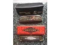 Hohner vintage harmonicas