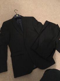 NEXT suit (slim tailored, black)