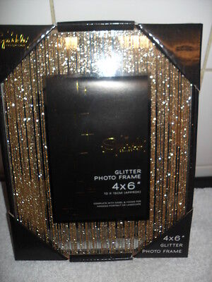 Gold  Glitter  Effect  Picture Frames 4
