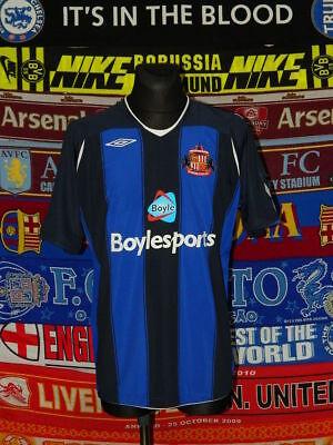 3c02f5fc1 5 5 Sunderland adults XL 2008 MINT away football shirt jersey trikot soccer