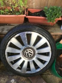 18 alloy wheels Rs8 replica vw t4