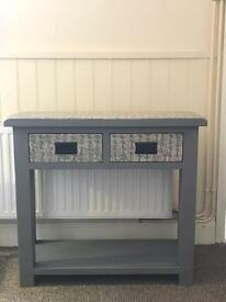 Sideboard Grey Chalk and Santoro design table / sideboard / drawers