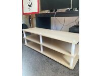 Large TV stand - Good condition (few small scratches)