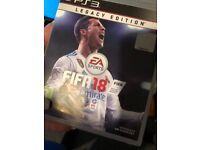 Fifa 18 PlayStation 3 legacy edition.