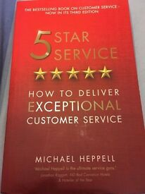 """Five Star Service: How to Deliver Exceptional Customer Service, Heppell """"NEW"""""""
