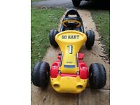 GO KART with charger and battery like new condition!!!