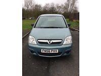 Vauxhall Meriva, Full Service History, Long MOT and very very Cheap.