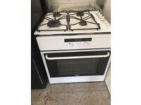White Built in Electric Oven & Gas Hob Whirlpool Fully Working Order Just £50 Sittingbourne