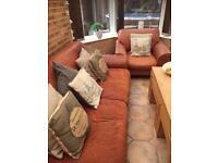 X3 x2 seater sofa/settee