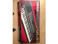 Yamaha Keyboard PSR-48. Excellent condition, boxed with AC adaptor