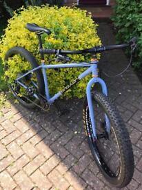 Men's Mountain Bike, Singular Swift, Medium size