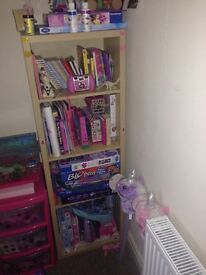 Lovely bookcase with shelves
