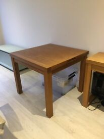 Solid Oak Extending Table from Laura Ashley (currently on sale for £380)