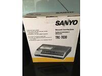 Sanyo Minicassette Transcribing System TRC-7030 in box