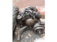 2004 vespa px 125 project have engine needs slight attention solid frame
