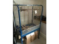 Parrot cage to give away. Needs a clean and needs to be collected.