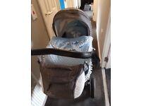 Pram, Buggy, Car seat &' changing bag